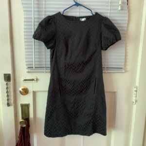 Navy Blue Short Sleeve GO International Dress Sz 7